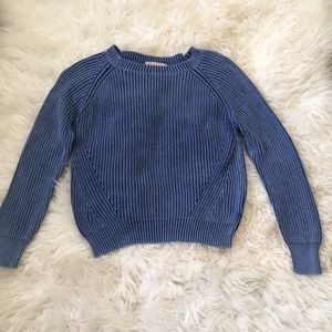 """Philosophy Sweater made to look """"weathered"""""""